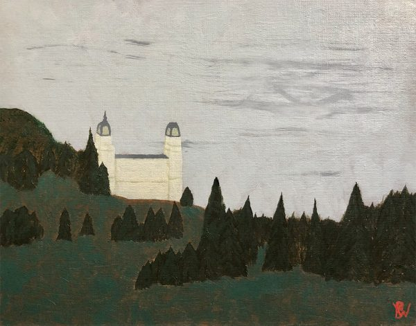 Manti Temple finished painting