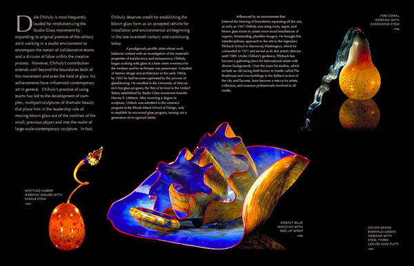 Brochure: Chihuly: The Art of Glassblowing interior spread