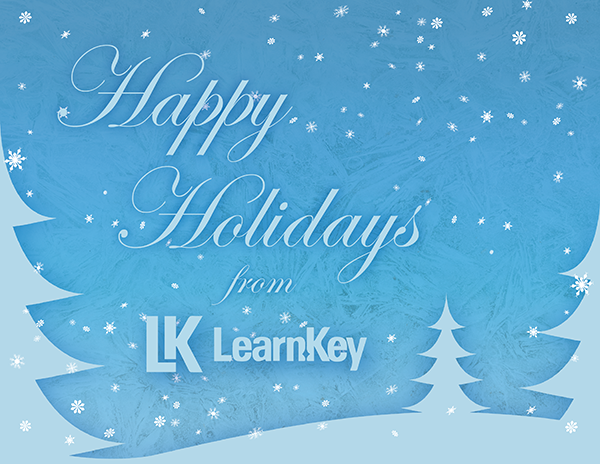 LearnKey Holiday Card